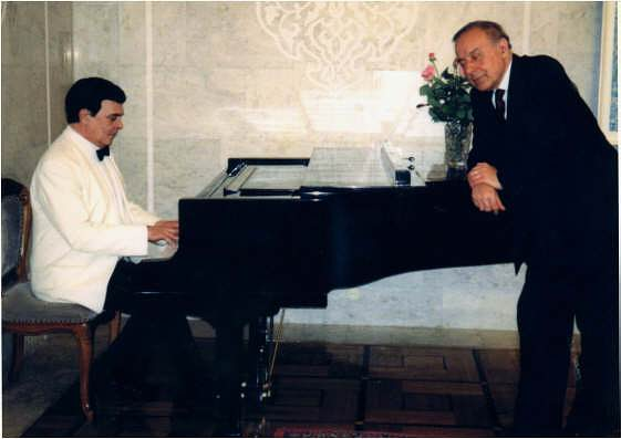 "M.Magomaev and G.Aliev. In memory of Zarifa Alieva – a song ""Elegy"""